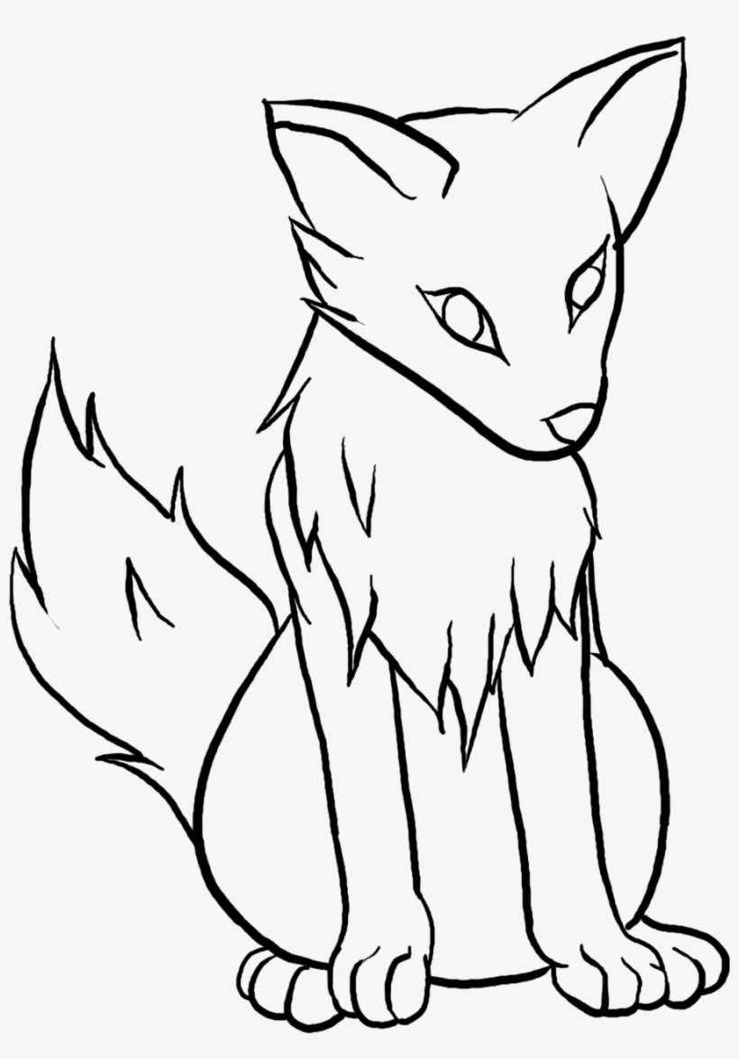 Wolf Pup Drawing : drawing, Clipart, Drawing, Transparent, 900x1245, Download, NicePNG