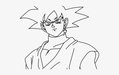 Dragon Ball Clipart Black And White Dragon Ball Super Goku Black Drawing Transparent PNG 728x435 Free Download on NicePNG