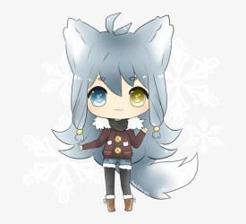 Chibi Alpha Female Cute Anime Wolf Girl