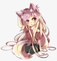 Kawaii Cute Anime Wolf