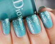 6 turquoise nail design woman