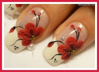 red nail designs for prom pictures : Woman Fashion ...