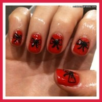 Red Nail Designs : 7 Red Prom Nail Designs | Woman Fashion ...