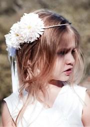 flower girl hairstyles crown kids