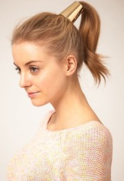 cute ponytail hairstyles woman