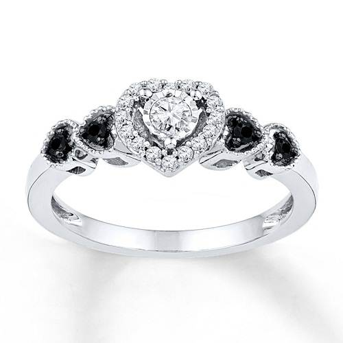 Kay Jewelers Promise Rings White Gold : Woman Fashion
