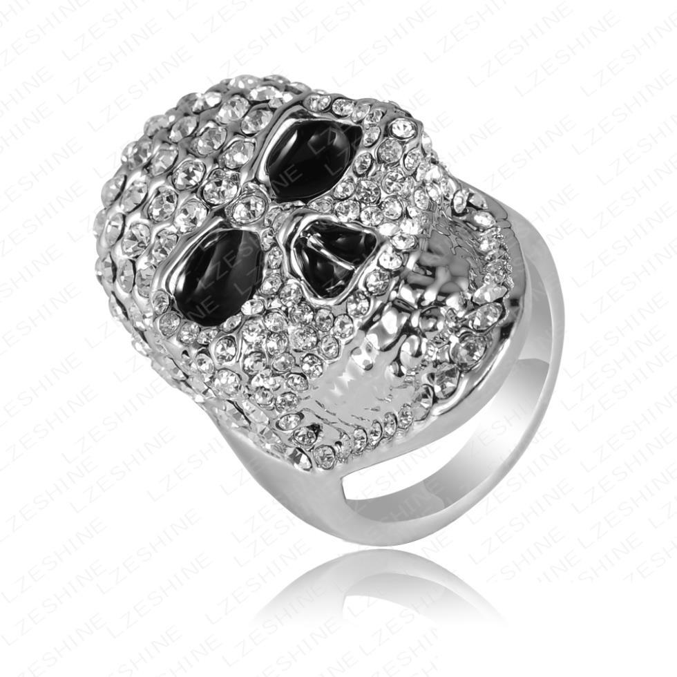Skull Wedding Rings For Men  Woman Fashion