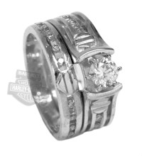 7 Unique Harley davidson wedding ring sets : Woman Fashion ...
