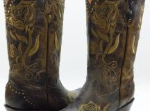 Charming Wide Calf Cowboy Boots For Women Photo Gallery in Shoes