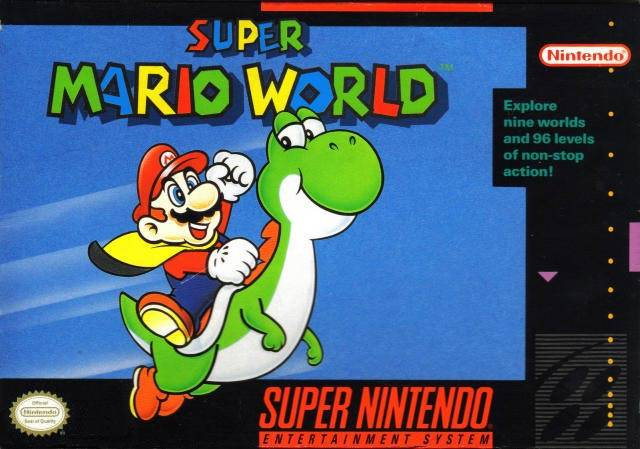 Super Mario World Usa Snes Rom Nicerom Com Featured Video Game