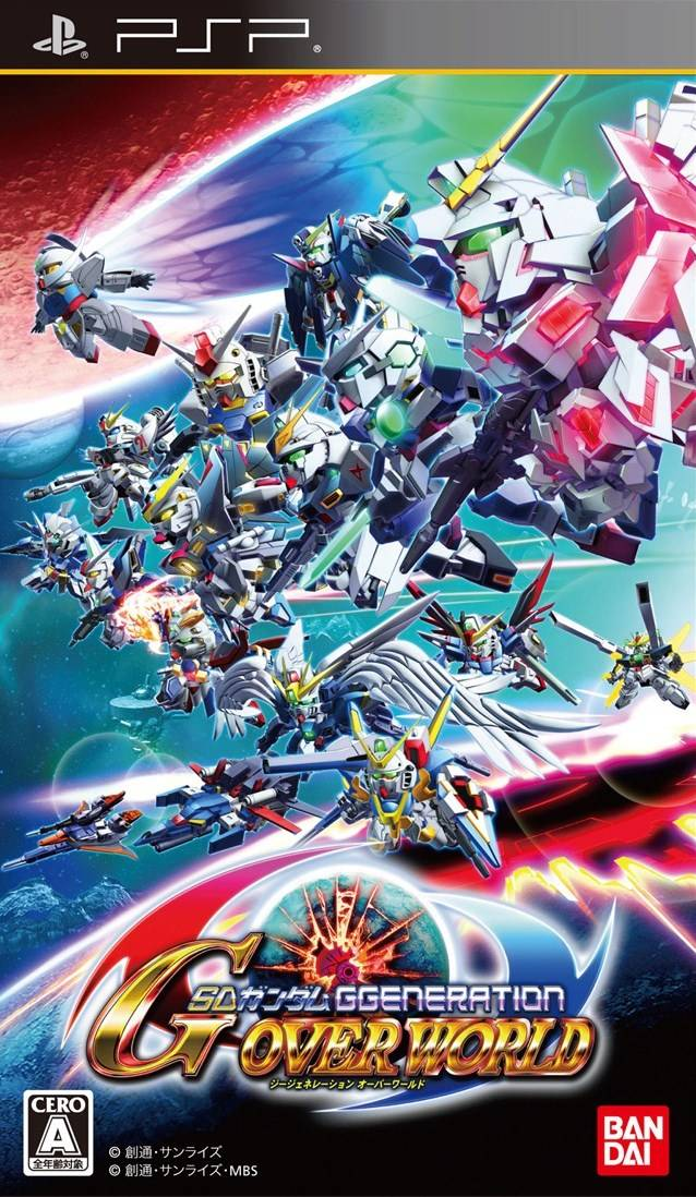 Sd Gundam G Generation Over World Japan Psp Iso