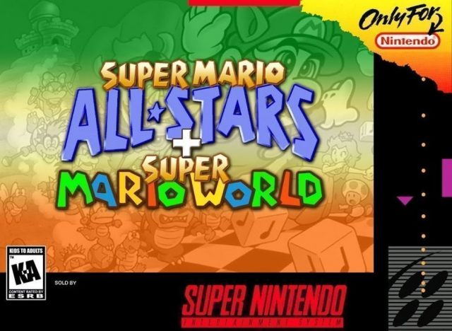 Super Mario All Stars Super Mario World Usa Snes Rom Nicerom
