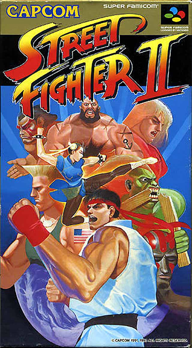 Street Fighter Ii The World Warrior Japan Snes Rom Nicerom