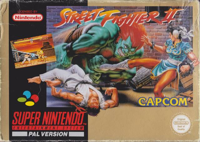 Street Fighter Ii The World Warrior Europe Snes Rom Nicerom