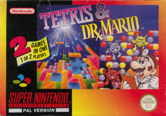 tetris dr mario europe snes rom nicerom com featured games