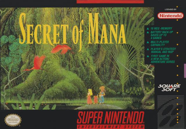 Secret of Mana (USA) SNES ROM - NiceROM com - Featured Video Game
