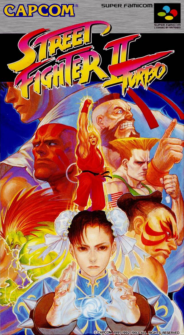 Street Fighter Ii Turbo Hyper Fighting Japan Snes Rom