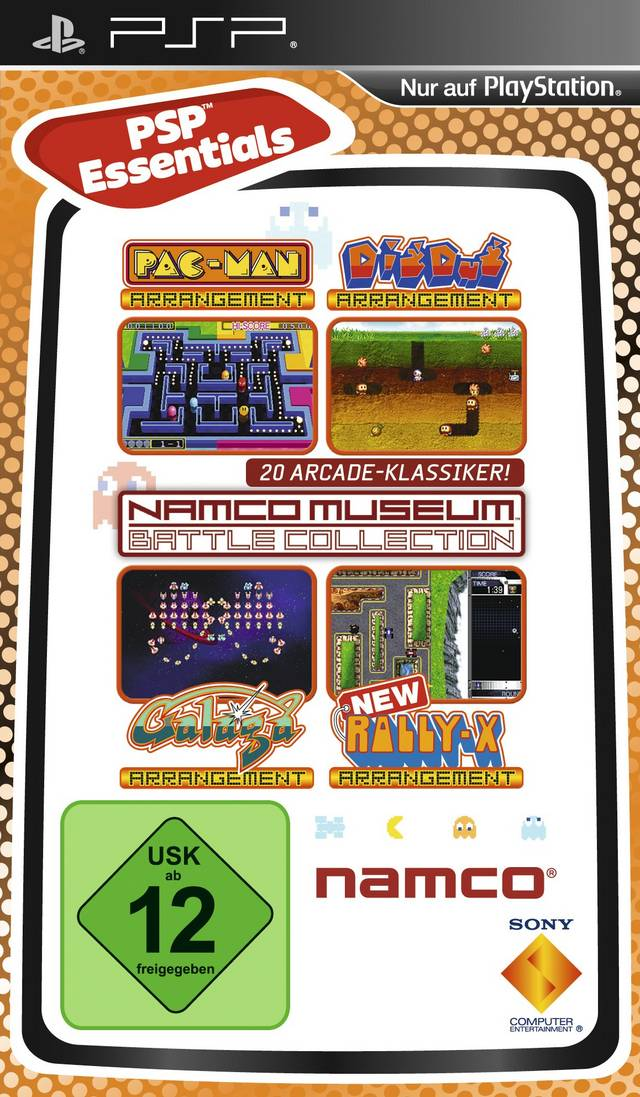 psp namco museum battle collection cool rom