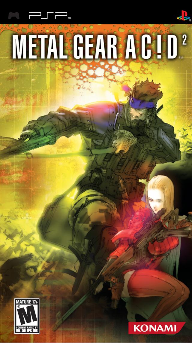 Metal Gear Acid 2 Usa Psp Iso Nicerom Com Featured