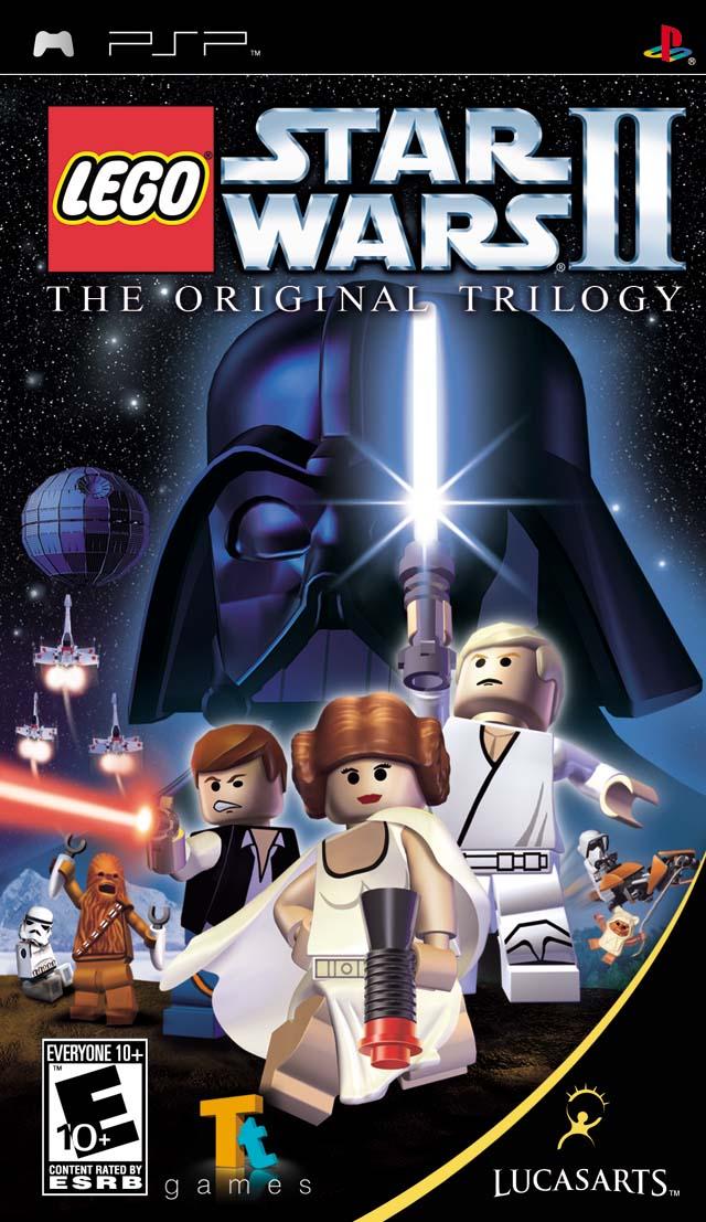 Lego Star Wars Ii The Original Trilogy Usa Psp Iso