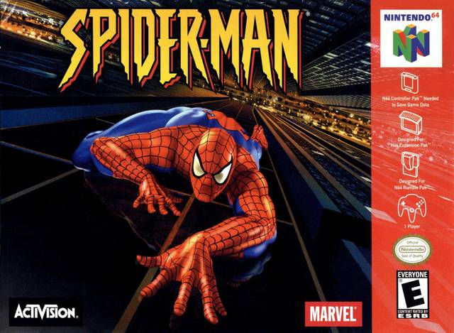 Spider-Man (USA) N64 ROM - NiceROM com - Featured Video Game