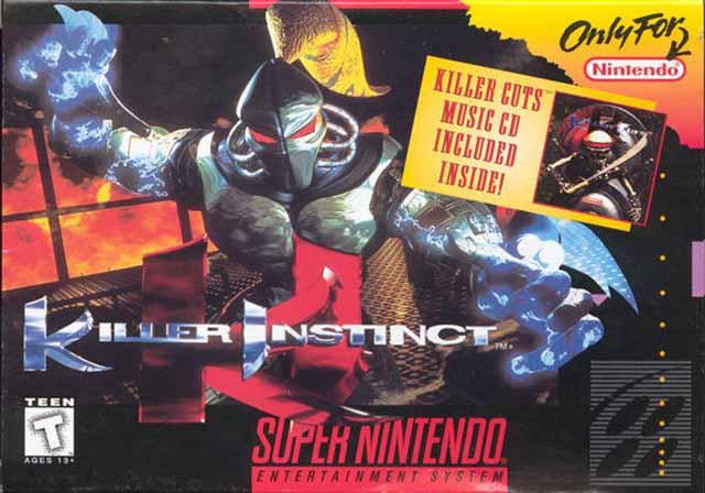 Killer Instinct Usa Snes Rom Nicerom Com Featured Video Game