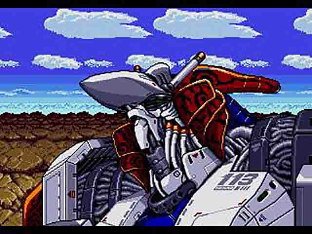 Musha Aleste Full Metal Fighter Ellinor Japan Genesis