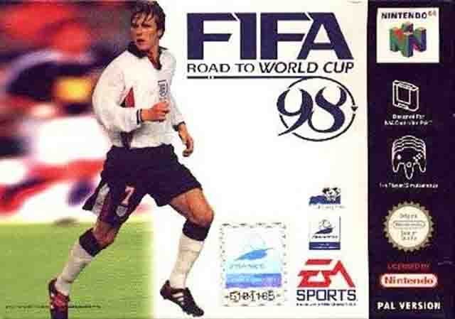 FIFA: Road to World Cup 98 N64 ROM Game