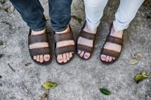 Walking Feet in Sandals