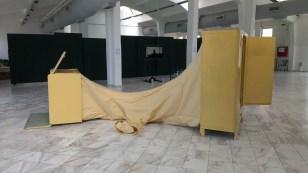 leonidas papalampropoulos RECTUM installation , 2016