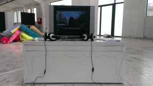 vaggelis artemis NICE VIEW installation and video.2016