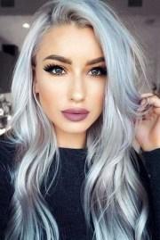 gorgeous silver hair colour