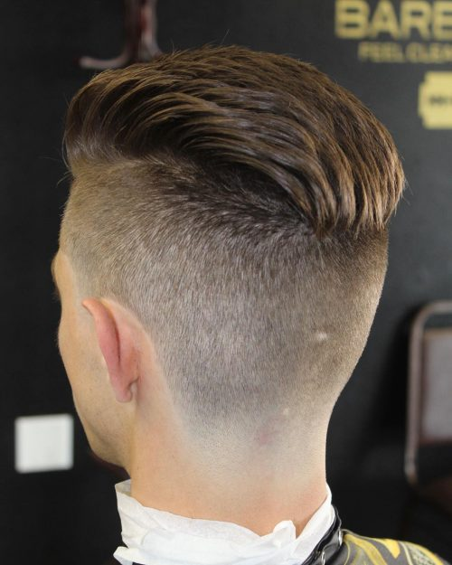 Medium Length Hair - Taper Haircut Trends