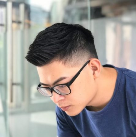 Quiff - Taper Haircut Trends