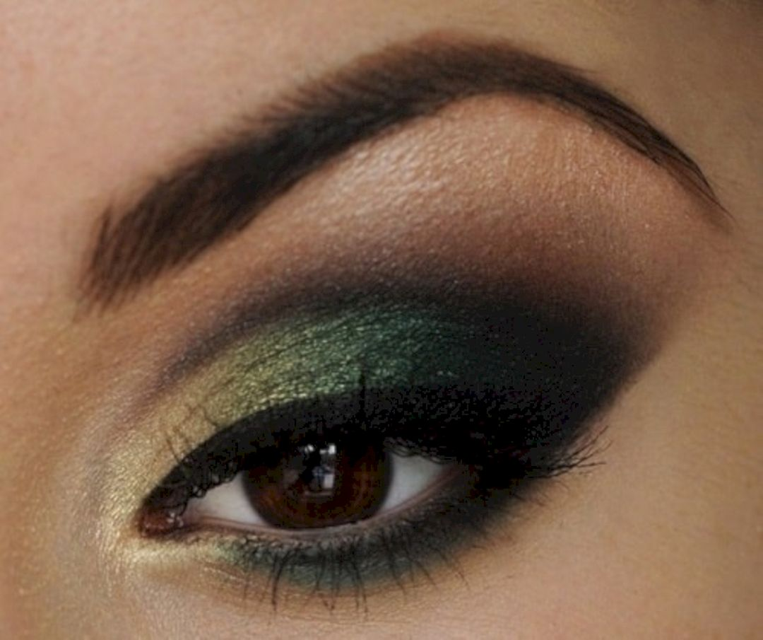 Marvelous Women Green Eye Shadow That Need To Try: