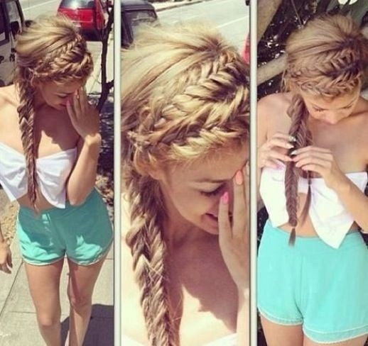 Cute Braided Hairstyles for Summer