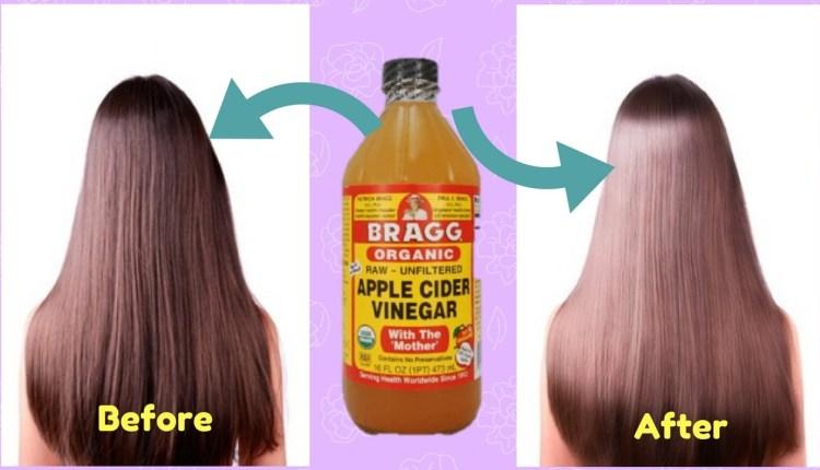 Apple Cider Vinegar for Hair Straightening