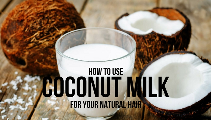 Coconut Milk to Straighten Hair Naturally at Home