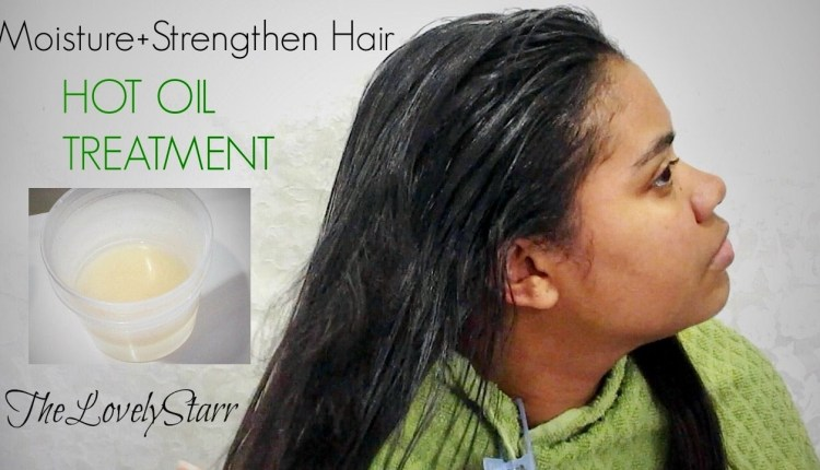 Hot Oil Treatment for Straight Hair