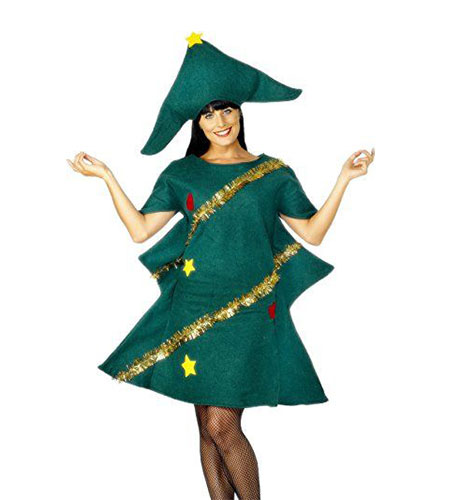 Smiffy's Women's Christmas Tree Costume