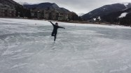 Enjoy Figure Skating at Keystone Lake, Colorado