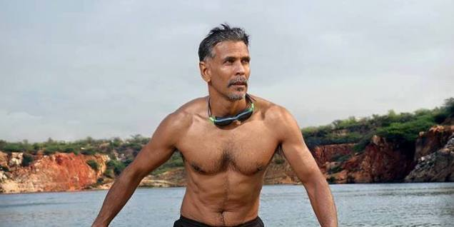 Milind Soman: Infamous as the 'Made in India' guy, Milind Soman is an active marathoner. This 50 year old ex-supermodel has won the title of 'Ironman' in Triathlon held in Zurich, Switzerland. For the lesser enlightened souls, the Triathlon is one of the toughest fitness competitions in the world. A fitness enthusiast and an avid traveller, Milind Soman makes fitness travel look cool.