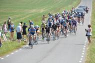 Langningssträckan var riktigt tung att cykla. Uppför och kantvind. Sög musten ur mig varje gång