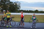 Jag, Jakob (Cykla i Eslöv IF) och en Ringen-supporter