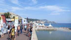 Målgång i Nice