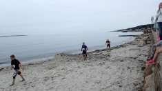 Massor med sandlöpning!