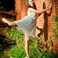 The Ballerina and The Brick Wall