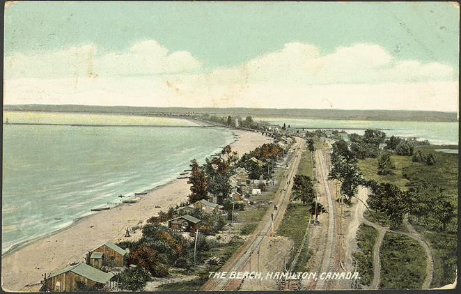 The Beach, Hamilton, Canada. 1910.