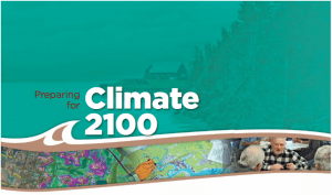 """""""Preparing for Climate 2100."""" From the conference program."""