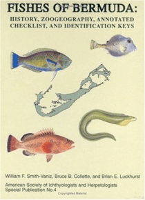 Figure 2: Many of Drummond-Hay's watercolours of fish are illustrated in Fishes of Bermuda (1999), included the four images on the cover of the book